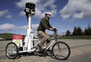Google streetview bike (trike)