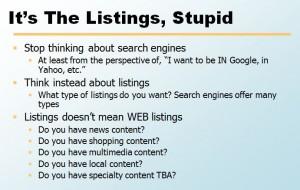 listings SEO
