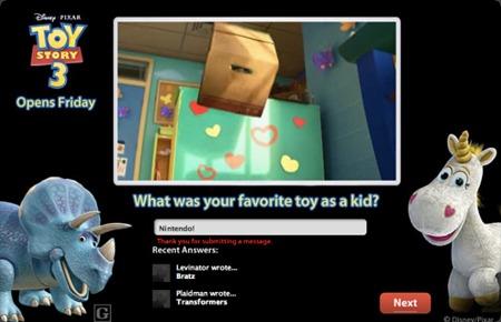 toy story marketingfood